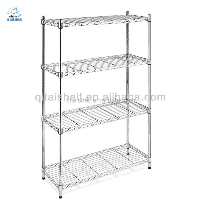 NSF certificated chrome plating wire shelving
