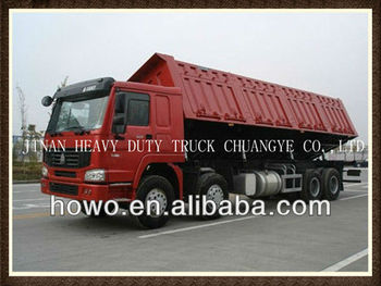 HOWO 8x4 side tipper