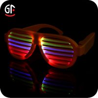 Hot Sale New Product Party Flashing Light Custom Shutter Sunglasses