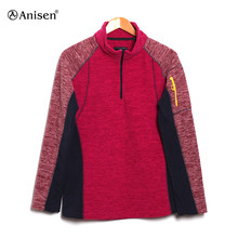 women micro melange fleece women outdoor jacket