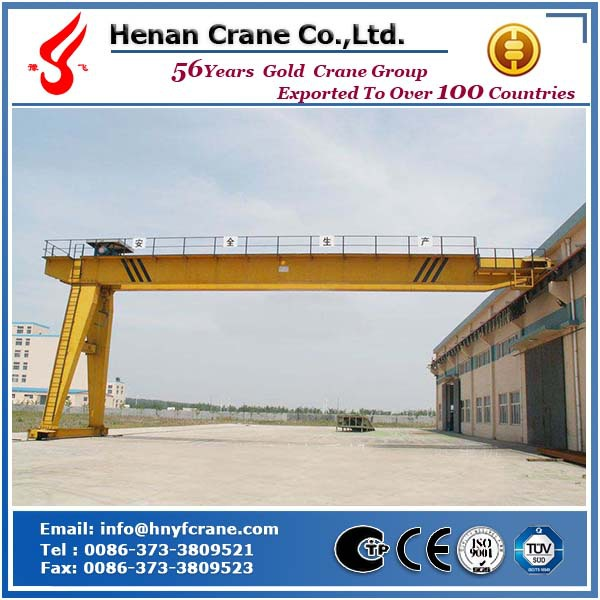 Electric semi-gantry crane equipment used for workshop
