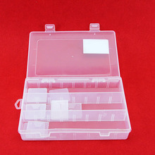Plastic Storage Box 15 Compartments Jewelry Earring Tool Containers