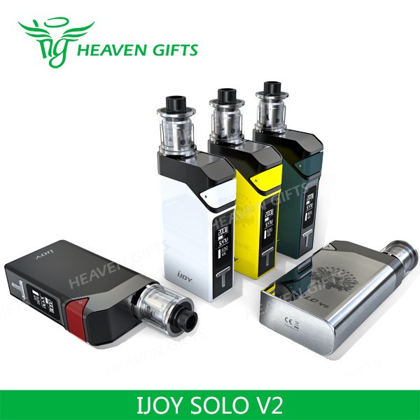 Made In China 0.3ohm 200W 2ml IJOY Solo V2 Kit electronic vaporizer cigarette
