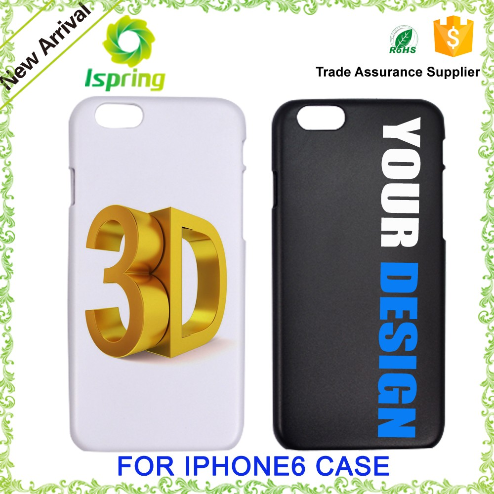 Hard plastic with customer own logo phone cover, for iPhone 7 Custom Printed Phone Case with full color Printing