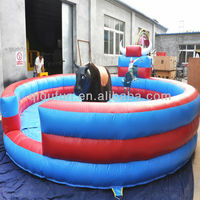 Rocking Mechanical Bull Inflatable Red Bull Inflatable Mattress