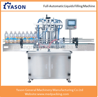 Fully Automatic Liquid Filling Production Line Four Heads Or Six Heads