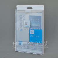 Customized ipad case box, plastic packaging for ipad case