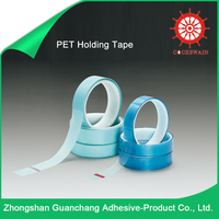 China Wholesale Merchandise Non Flammable Plastic Pet Tape /PET Holding Tape