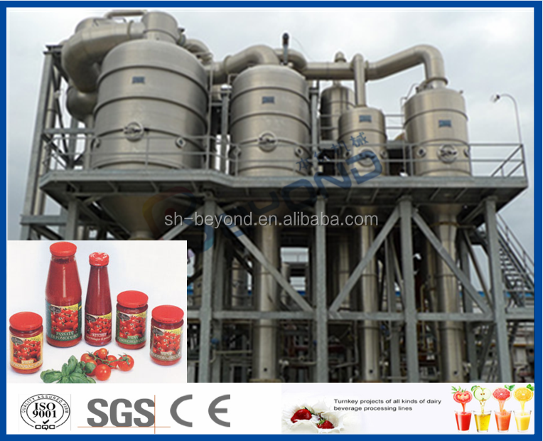 Canned tomato paste processing plant / tomato jam production line
