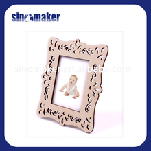 funny 3D wall sticker photo frame with magnet