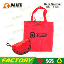 Polyester Reusable Fruit Shape reusable folding grocery bags DK-TY495