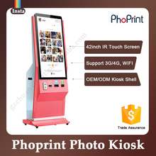 Newest Coin Vending Machine for Sale Instant Picture Printing Photo Kiosk software