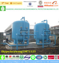 WWTP Mechanical multi-media filter tank for waste water treatment