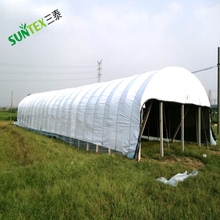 120 Micron Black White Plastic Ground Cover for Greenhouse/Extra Heavy Duty Black White Panda Film for Farm Buildings 10m