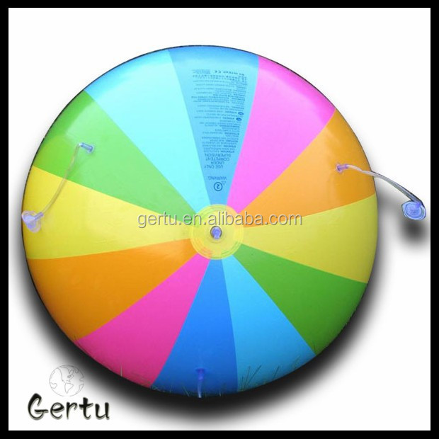 promotional pvc rainbow beach balls