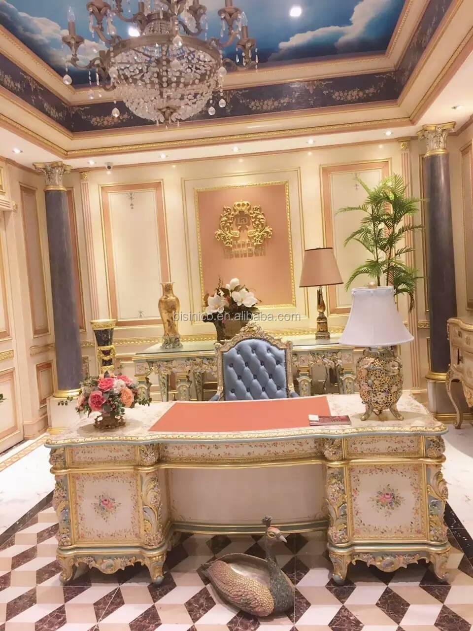 Elegant Italian Design Home Office Furniture Classical