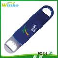 Winho Bartender's Vinyl Bottle Opener with Your Logo