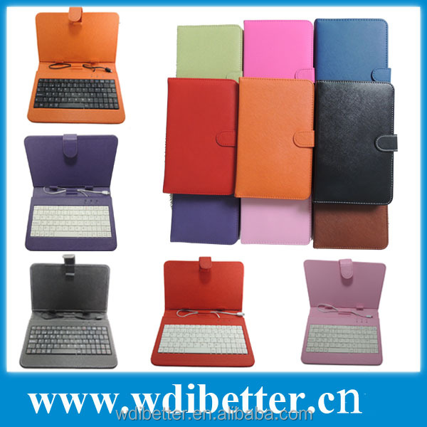7 inch Universal Tablet Keyboard Cover Case For iRulu