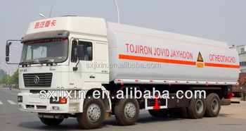 China Shacman 8x440CBM OIL TANKER TRUCK