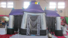 customized new style halloween inflatable haunted house for sale