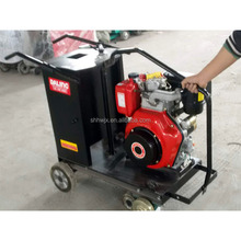 Hengwang7hp diesel engine portable concrete cutter