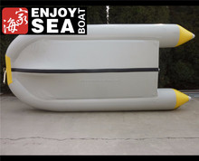 3 years warranty high quality inflatable salvage pontoon boats!