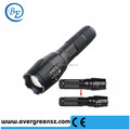 800LM Mini LED Flashlight Torch Adjustable Focus Zoom Light Lamp (3 Mode Black)