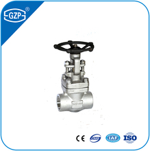 ASTM A105 F304 F316 F304L F316L Forged Steel Threaded Welding Screw Gate Valve for WOG Steam
