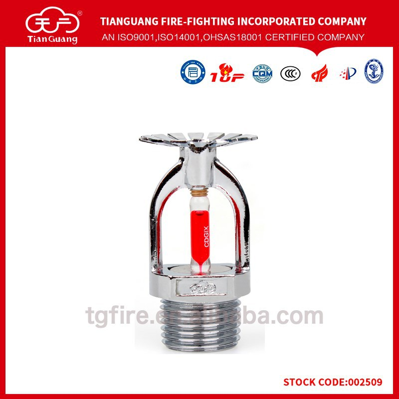Hgih pressure fire sprinkler parts in fire fighting system