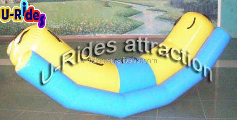 High Density 0.9mm PVC Inflatable Water Totter for Kids and Adult