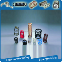 0.1-20mm available OEM high-temperature steel constant force compression spring hot sale