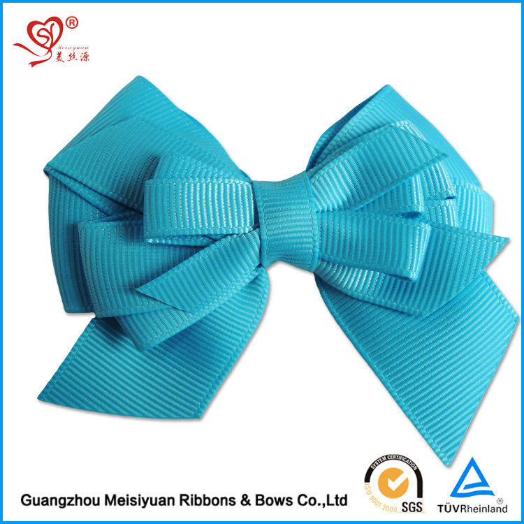 Wholesale Hot Sale New Design Self Adhesive Pre-made Large Christmas Ribbon Bow