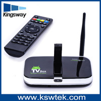 Hot selling Alliwinner A31s quad core dvb-s2 android 4.0 smart tv box
