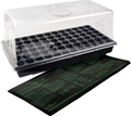 Perfect Garden Seed Starter Grow Trays For Seedlings Indoor Gardening, Growing Microgreens, Wheatgrass & More Soil or Hydrop