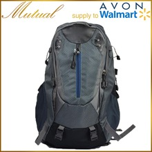 China manufacturer colourful customer backpack hiking