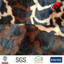 Cats Toy Use 100% Polyester Printing Velboa Fabric