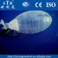 CE surgical suction bottle silicone drainage ball