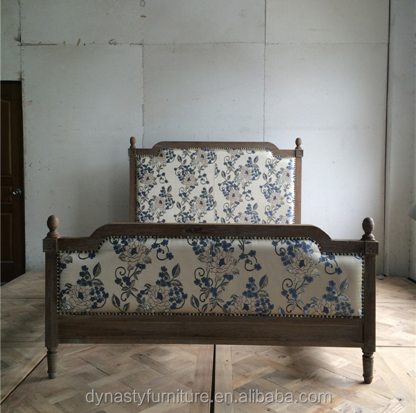 wooden french style antique <strong>bed</strong> design for bedroom home goods