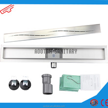 Stainless steel bathroom accessories shower drain