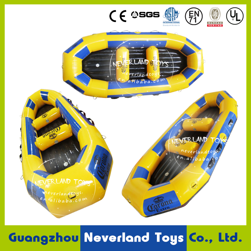 NEVERLAND TOYS Inflatbale Water Toys Inflatable Boat Inflatable Water Raft for Outdoor Commercial Water Park