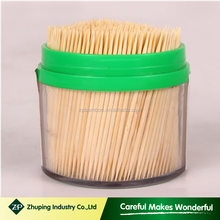 ZHUPING china toothpick Factory Bamboo Dental Floss Toothpick wholesale