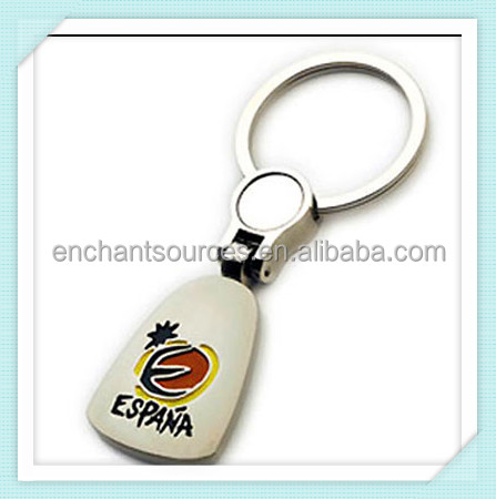 Hottest Promotional custom soft PVC floating key chain
