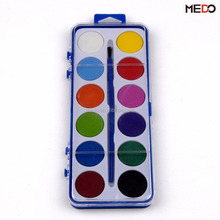 Wholesale 12 colors non-toxic watercolor solid