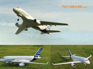 A320 2.4G 4 channel rc airplane brushless