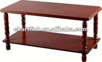 TOP SELLING!! Classic Design heat bent glass coffee table