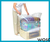 PA/PE Clothing Cube Vacuum Compressed Bag