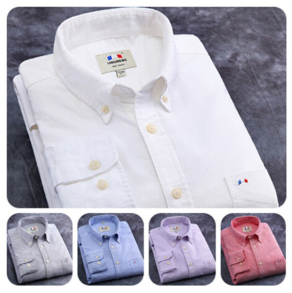 alibaba factory price wholesale 100%oxford cotton long sleeve sublimation <strong>shirt</strong> for men