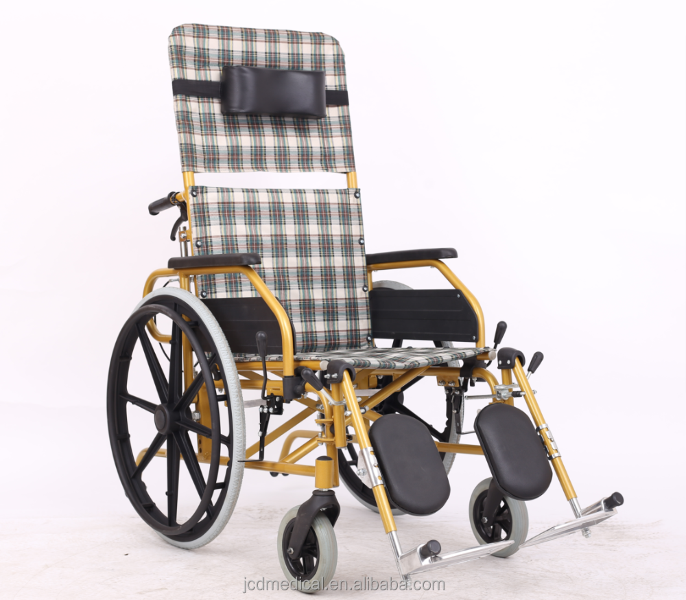 Professional supplier of manual foldable wheel chair for disabled