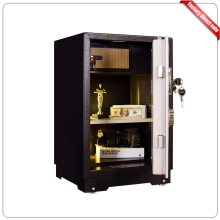 Steel fingerprint gun steel drawer safe box with biometric lock