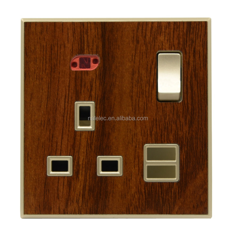 13A switched USB waterproof electrical socket